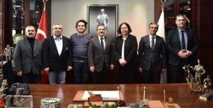 Başkan Ataç akademisyenleri ağırladı
