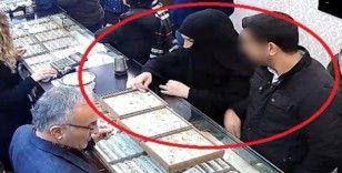 Sevgililer Günü hırsızları 5 bin TL'lik yüzük çaldı