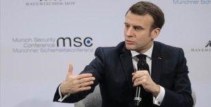Macron: İdlib'de yaşananlarla ilgili Rusya ile aynı fikirde değiliz