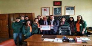 Bozüyük'te 'Benim Kulübüm Yeşilay' etkinliği düzenlendi