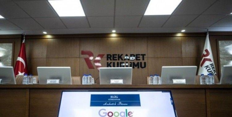 Rekabet Kurulundan Google'a 98,3 milyon lira idari para cezası