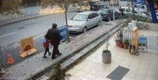 İstanbul'da lüks cipe silahlı saldırı kamerada