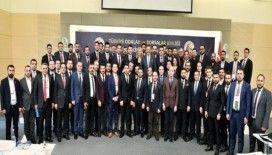 Manisalı genç girişimciler, 'Girişimcilik, mentorluk ve staj iş birliği' protokol törenine katıldı