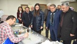 AK Parti'li heyet Yunus Emre Kültür Parkına hayran kaldı