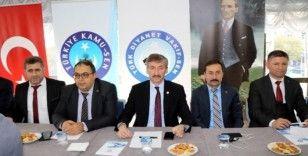 Türk Diyanet Vakıf Sen Temsilciler Toplantısı Samsun'da yapıldı
