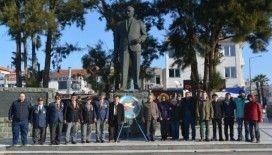 Ayvalık'ta THK'nın 95. Kuruluş yıl dönümünü töreni