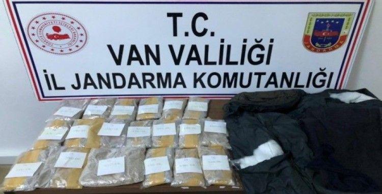 Pantolon astarına gizlenmiş 5 kilo 200 gram eroin ele geçirildi