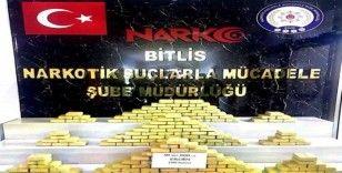 Bitlis'te 92 kilo uyuşturucu ele geçirildi