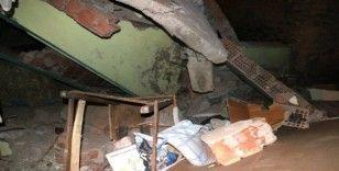 Deprem hasar tespit ekibi düşürüldü