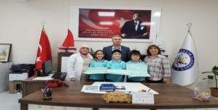 Dünya birincilerinin 3'ü Kavaklık İlkokulu'ndan çıktı