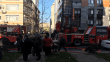 Kadıköy'de 9 katlı apartmanda yangın paniği