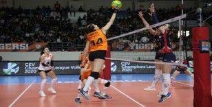 CEV Şampiyonlar Ligi: Eczacıbaşı: 3 - Budowlani Lodz: 2