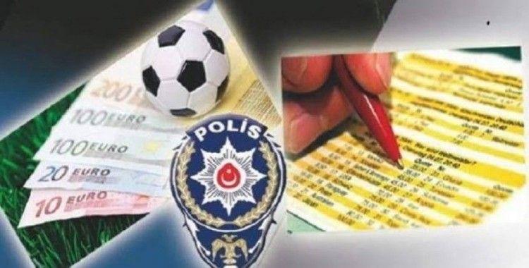 Malatya'da 8 kişiye bahis gözaltısı