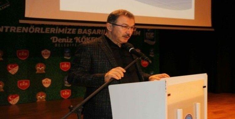 Başkan Deniz Köken İstanbullu antrenörlerle buluştu