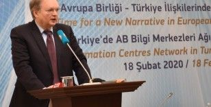 'AB-Türkiye ilişkilerini biraz da soğutan bir takım gelişmeler de yaşandı'
