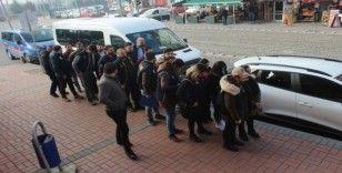 PKK/KCK'nın eylem ve faaliyetlerine katıldıkları iddia edilen 9 kişi adliyede