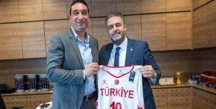 Filistin Basketbol Federasyonu'ndan TBF'ye ziyaret
