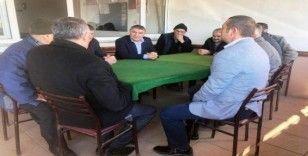 Başkan Şayir vatandaşlarla bir araya geldi