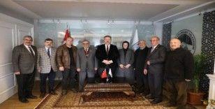 Anadolu Muhtarlar Derneği'nden Başkan Palancıoğlu'na ziyaret