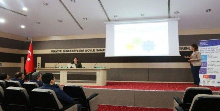 Çerkezköy'de Avrupa İşletmeler Ağı ve Teknopark Tanıtım Toplantısı