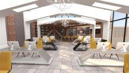 Bahçelievler Gençlik Merkezi ve Kitap Kafe projesinin inşaatına başlanıldı