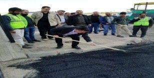 Bağlar Belediyesi kendi ürettiği asfaltla asfalt seferberliğine hazırlanıyor