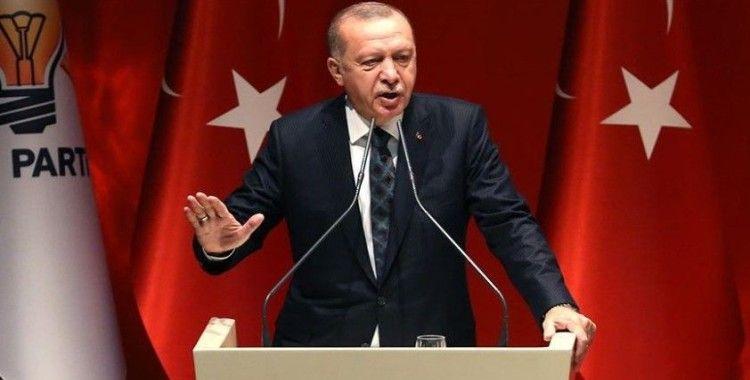 Cumhurbaşkanı Erdoğan partisinin grup toplantısında konuştu
