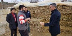 ''Üretken Köy Projesi'' kapsamında çiftçiler bilgilendirildi
