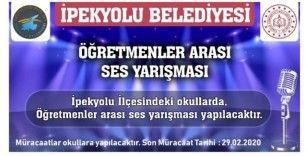 """İpekyolu'nda """"İpekses"""" yarışması"""