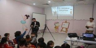 Kreş öğrencileri 'gazetecilik' mesleği ile tanıştı