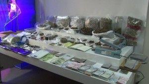 Uyuşturucu operasyonunda polisi bile şaşırtan görüntü