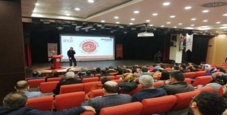 """""""Afete Hazır Türkiye"""" projesi kapsamında ilk sertifikalı eğitim Sincan Belediyesine verildi"""