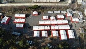 İstanbul'da eğitim amaçlı kurulan sahra hastanesi gerçek hastaneyi aratmıyor