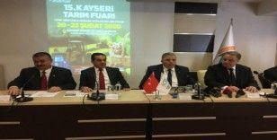 Yerli tarım makineleri ilk kez Kayseri'de görücüye çıkacak