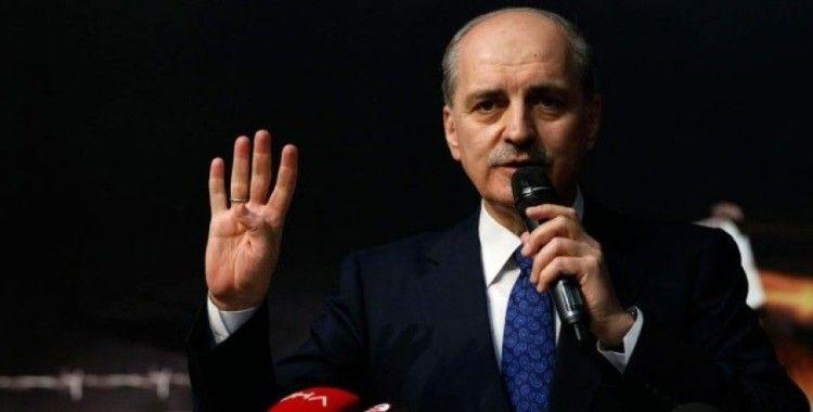 AK Parti Genel Başkanvekili Kurtulmuş: Trump'ın sözde barış planı asla uygulama imkanı bulmayacak