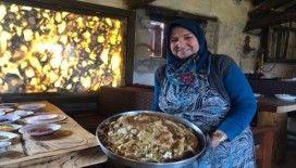 Afyonkarahisar'ın asırlık lezzeti 'göbekli' gün yüzüne çıktı