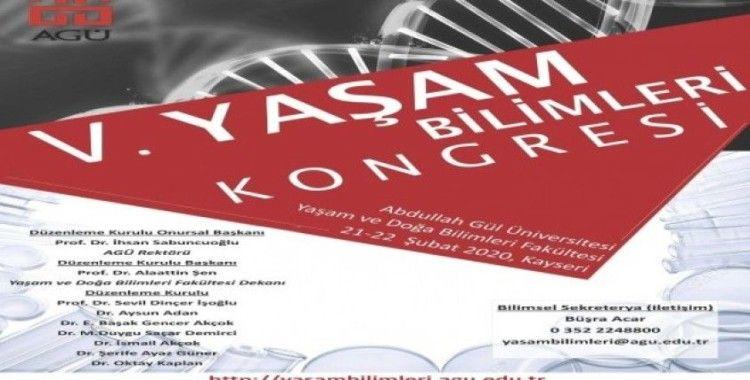 AGÜ'de, V. Yaşam Bilimleri Kongresi