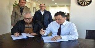 Türk Kızılay Isparta Şubesi ile Gençlikspor'dan işbirliği protokolü