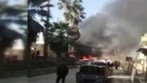 Suriye'nin Türkiye sınırında patlama 4 yaralı