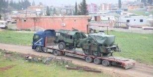Suriye sınırındaki birliklere füze rampası gönderildi