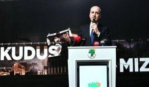 AK Partili Kurtulmuş 'Kudüs Davamız' programına katıldı