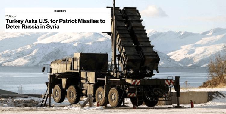 Amerikan basını: 'Türkiye, Rusya'ya karşı kullanmak için ABD'den Patriot istedi'