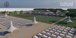 Belek'te bu yaz iki ücretsiz halk plajı hizmete girecek