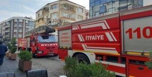 Çarşamba'da korkutan yangın