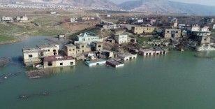 Baraj suları yükseldi, Hasankeyf'e girişler kapatıldı