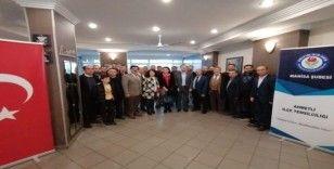 Öner ve ekibi Ahmetli'de eğitim camiasıyla buluştu