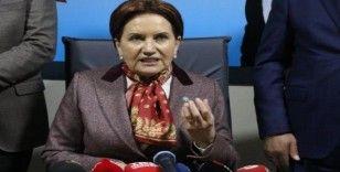 Akşener: Türkiye'nin çıkarı neyi öngörüyorsa onun yanında dururuz
