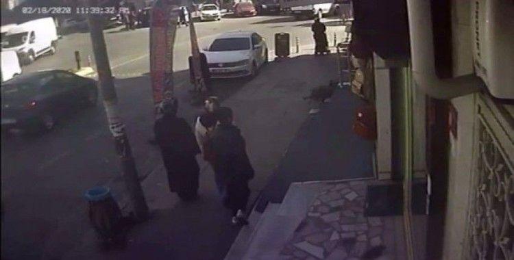 Kağıthane'de yankesicilik yapan 10 yaşındaki çocuk vatandaşlar tarafından yakalandı