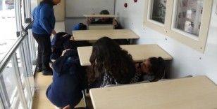 Bursa'da öğrencilere 'âfet eğitimi'