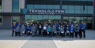 Bursa Büyükşehir Belediyespor Efelerinden gençlere altın öğütler